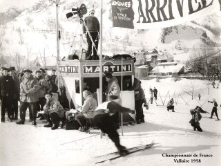 History of skiing in Valloire