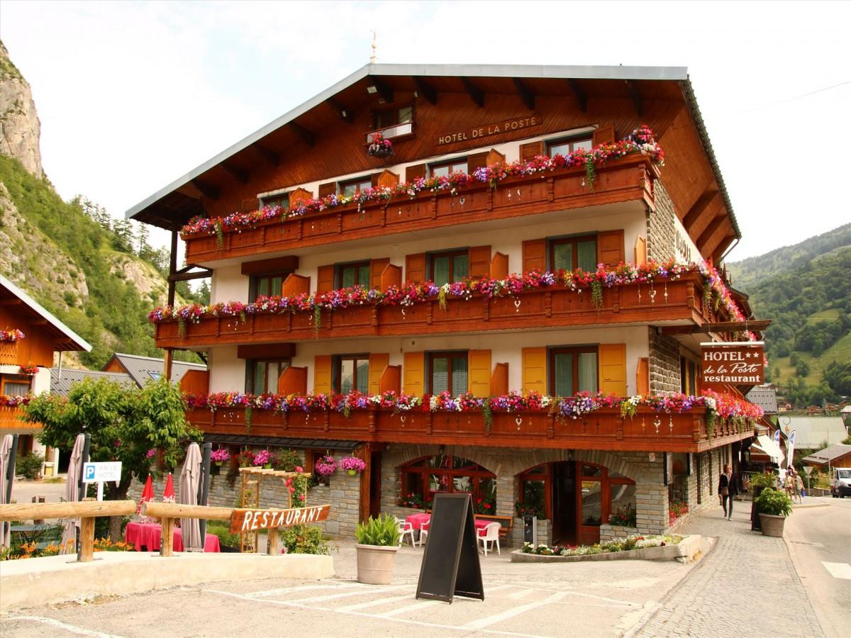 Hôtel de la Poste valloire, hotel valloire, hôtel valloire, hotel 2 étoiles valloire