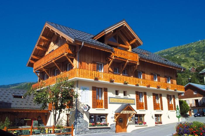 Hotel les Mélèzes été