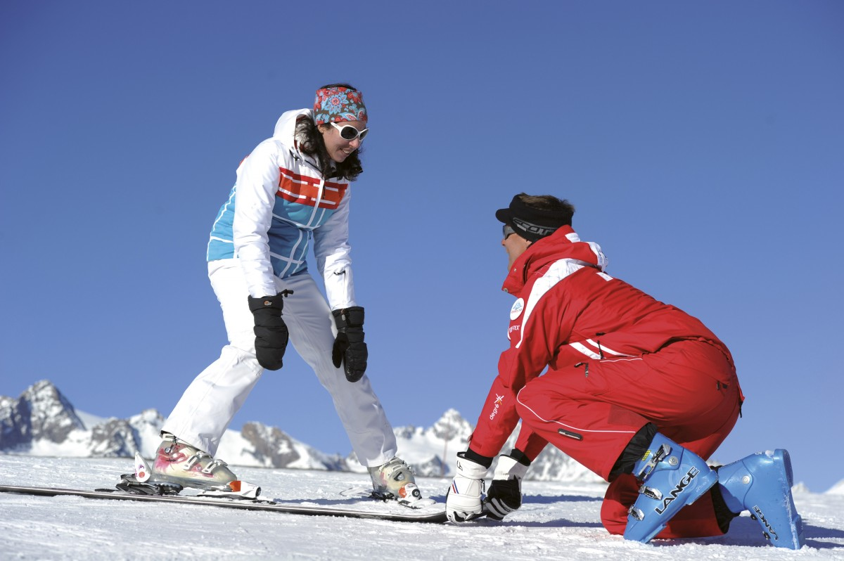 Ski Lessons Adult ESF Valloire