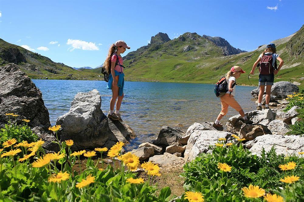 Hiking valloire