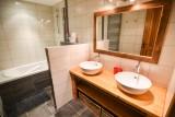 Salle de bains - Chalet l'Adret Valloire - Chalet Haut de gamme Valloire