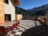 Vue été - Terrasse des Choseaux appartement D2 - Valloire - Séjour Montagne