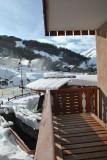 Vue depuis le balcon  - RocheChateau n°30A - Valloire Centre