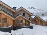 VUE EXTERIEURE - CHALET HU-SKY - VALLOIRE L'ARCHAZ - VALLOIRE RESERVATIONS