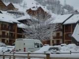 Vue hiver - Carène 12 - Valloire - Clos des Etoiles