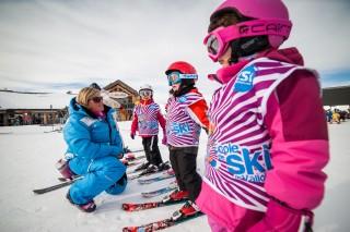 cours de ski enfant esi valloire