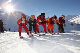 Cours de ski enfant ESF Valloire
