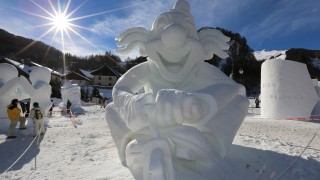 Sculptures sur Neige séjour package - séjour tout compris Valloire