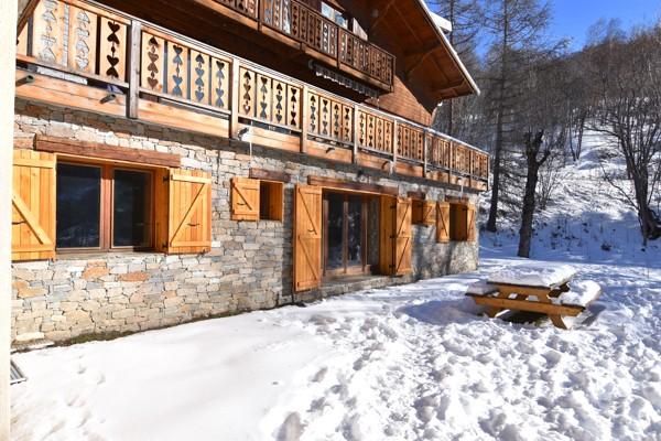 Chalet l'Adret Valloire - Chalet Haut de gamme Valloire - Séjour ski