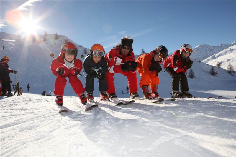 Ski Lessons Child ESF Valloire