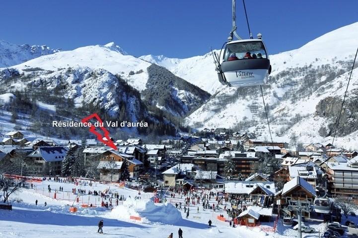 Résidence Val d'Auréa 43 - Valloire - Séjour Ski
