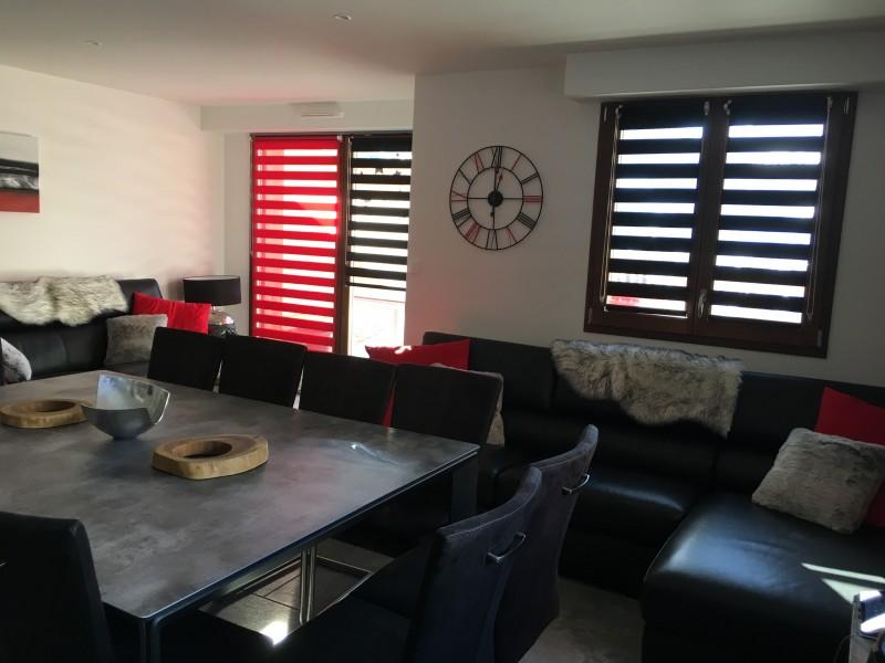 Salon - Terrasse des Choseaux appartement C1 - Valloire