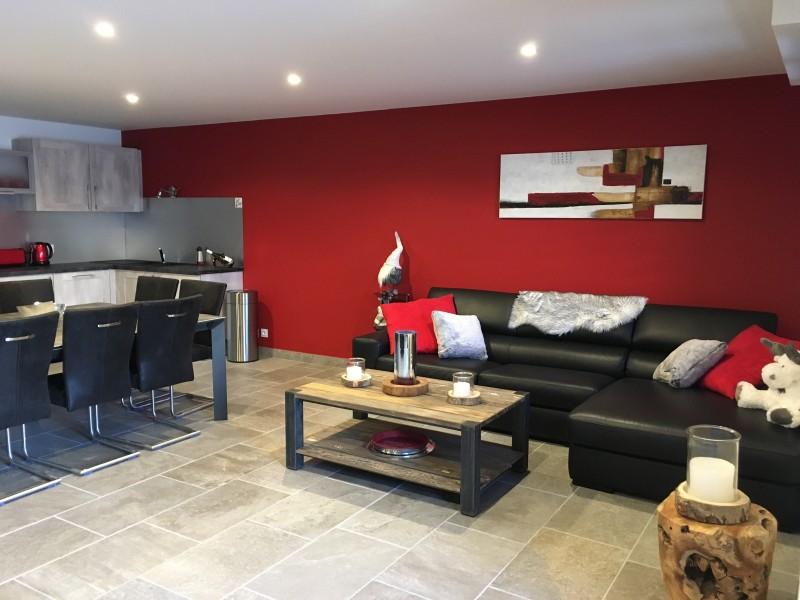 Salon - Terrasse des Choseaux appartement D2 - Valloire