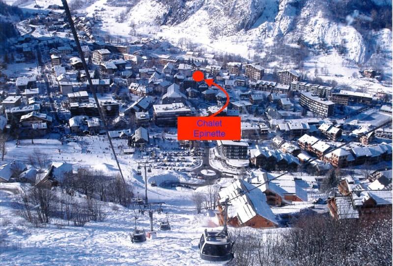 Situation - Epinette 204 - Valloire Centre